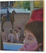 Horse Show No. 1 Wood Print