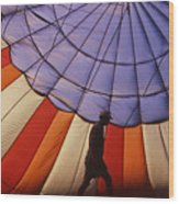 Hot Air Balloon - 11 Wood Print