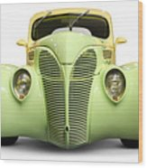 Hot Rod Ford Coupe 1938 Wood Print