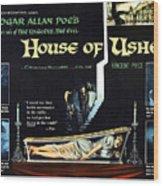 House Of Usher, Aka The Fall Of The Wood Print