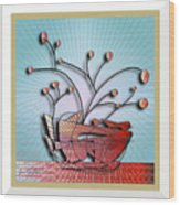 House Plant #6 Wood Print