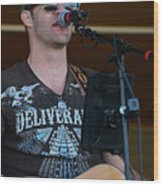 Houston At The Fair Wood Print