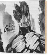 I Am Groot Wood Print