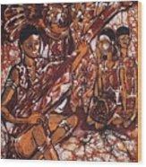 Iban Sape Wood Print