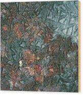 1. Ice Geometric, Glen Falloch Wood Print