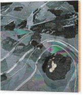 1. Ice Prismatics, Loch Tulla Wood Print