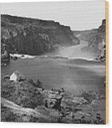 Idaho: Snake River Canyon Wood Print