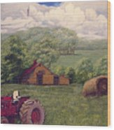 Idle In Godfrey Georgia Wood Print