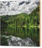 Idyllic Colorado Wood Print