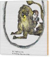 If I Had A Lion Wood Print