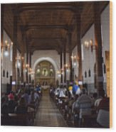 Iglesia Nuestra Senora De La Asuncion Ahuachapan Wood Print