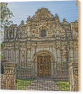 Iglesia San Jose El Viejo - Antigua Guatemala Hdr Wood Print