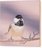 Img_0001 - Carolina Chickadee Wood Print