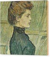 img296 Henri De Toulouse-Lautrec Wood Print