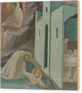 Incidents In The Life Of Saint Benedict Wood Print
