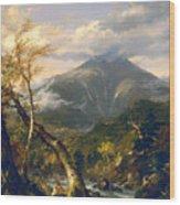 Indian Pass Wood Print