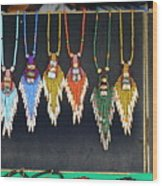 Indigenous Arts And Crafts Wood Print