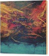 Inferno 3 Wood Print