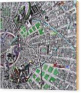 Inside Orbital City Wood Print