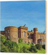 Inverness Castle, Scotland Wood Print