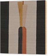 Iron Lady Wood Print