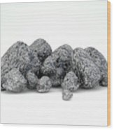 Iron Ore Nugget Collection Wood Print