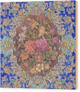 Isfahan Wood Print