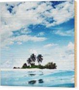 Island Wood Print