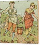 Jack And Jill Wood Print