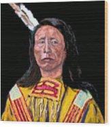 Jack Red Cloud Wood Print