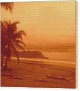 Jaco Beach Costa Rica Wood Print