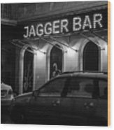 Jagger Bar In Ufa Russia Wood Print