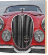 Jaguar Mark 2 Wood Print
