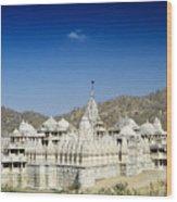 Jain Temple Of Ranakpur Wood Print