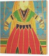Jaipur's Kathputli Wood Print