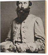 James E. B. Jeb Stuart Wood Print