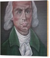 James Madison Wood Print