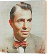 James Mason, Vintage Movie Star Wood Print
