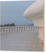 Japanese Peace Pagoda - Sri Lanka Wood Print