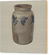Jar Wood Print