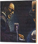Jazz Ray Charles Wood Print