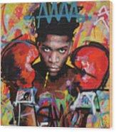 Jean Michel Basquiat Wood Print