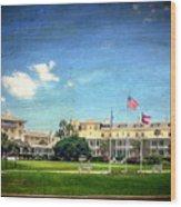 Jekyll Island Club Hotel Wood Print
