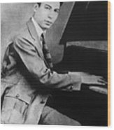 Jelly Roll Morton. For Licensing Requests Visit Granger.com Wood Print
