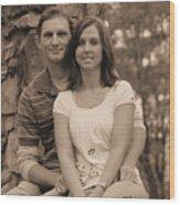 Jennifer And Family Wood Print