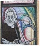 Jerry Garcia - San Francisco Wood Print