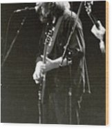 Grateful Dead - Jerry Garcia - Celebrities Wood Print