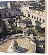 Jerusalem From The Tower Of David Museum Wood Print