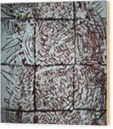Jesus The Good Shepherd Wood Print