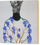 Jesus The Vine Wood Print